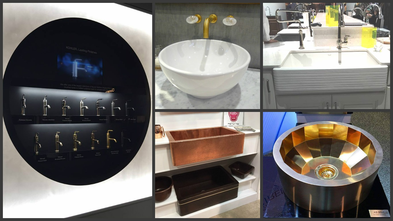 The buzz on kbis 2016 kitchen bath trends gilmans for Sink trends 2016